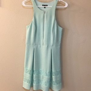 Express Tiffany Blue Dress
